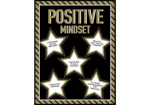 Carson Dellosa Sparkle + Shine Postive Mindset Chart