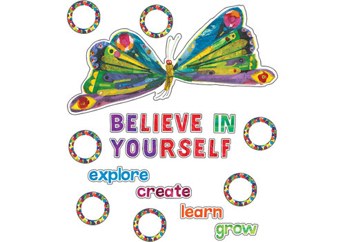 Carson Dellosa The Very Hungry Caterpillar™ Believe in Yourself Bulletin Board Set