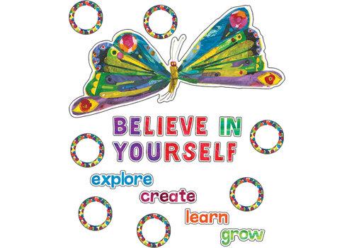 Carson Dellosa The Very Hungry Caterpillar™ Believe in Yourself Bulletin Board Set