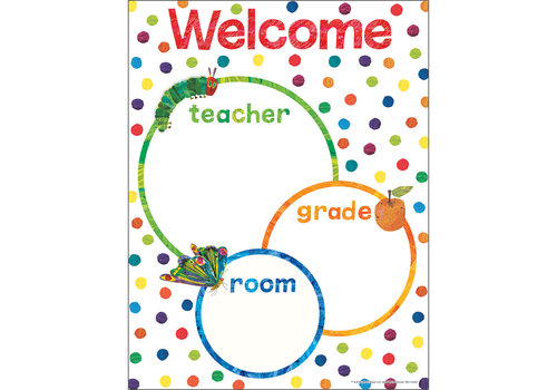 Carson Dellosa World of Eric Carle™ Welcome Chart