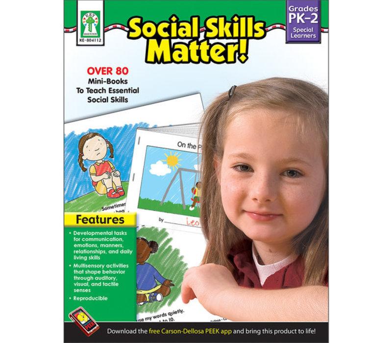 Social Skills Matter! Book