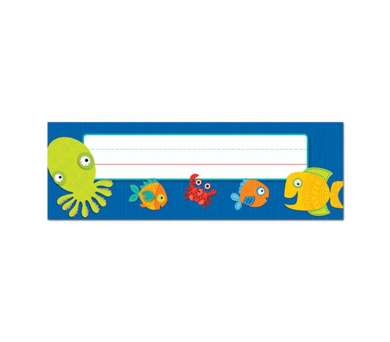 Seaside Splash Nameplates * (D)