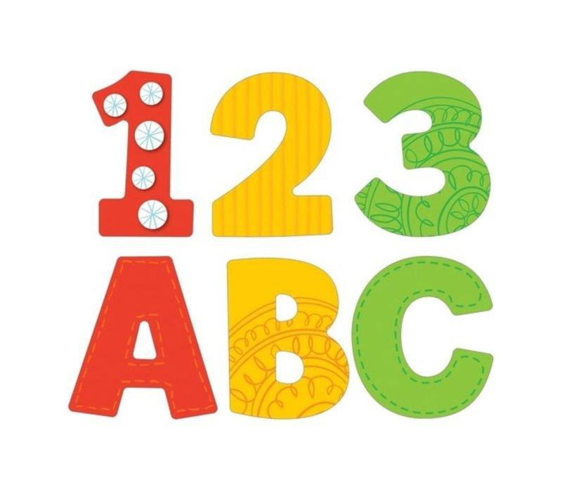 "Boho EZ Letters Uppercase 4"""