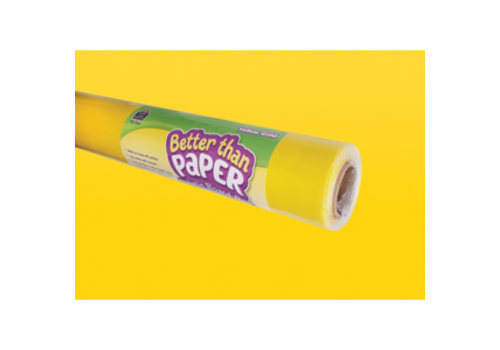Teacher Created Resources Better than Paper - Yellow Gold  Bulletin Board Roll
