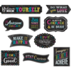Teacher Created Resources Clingy Thingy Chalkboard Brights Positive Sayings *