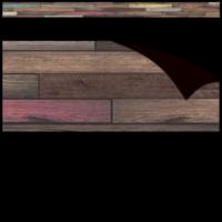 Reclaimed Wood Straight Magnetic Border*