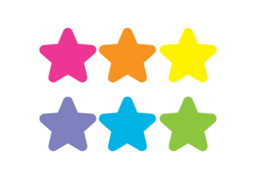 """Teacher Created Resources Spot On Carpet Markers Bright Stars 7"""""""