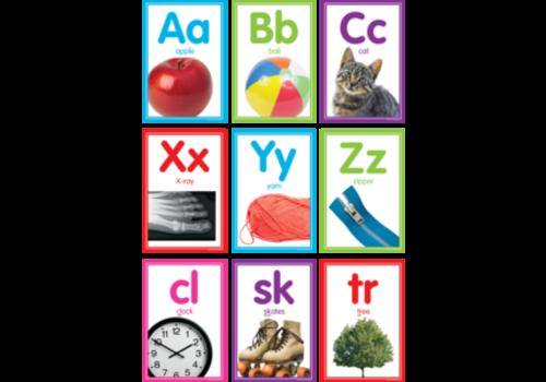 Teacher Created Resources Colorful Photo Alphabet Cards Bulletin Board Set