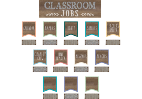 Teacher Created Resources Home Sweet Classroom Jobs Mini Bulletin Board Set