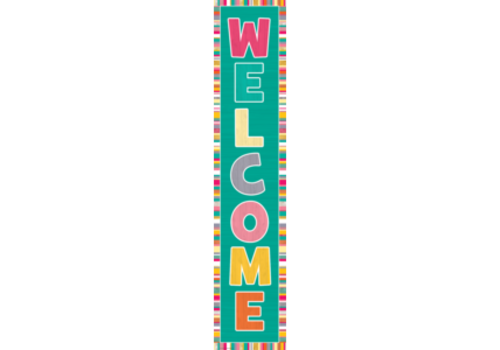 Teacher Created Resources Tropical Punch Welcome Banner *