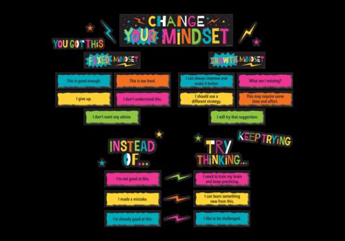 Teacher Created Resources Change Your Mindset Mini Bulletin Board Set