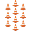 Teacher Created Resources Under Construction Cone Accents *