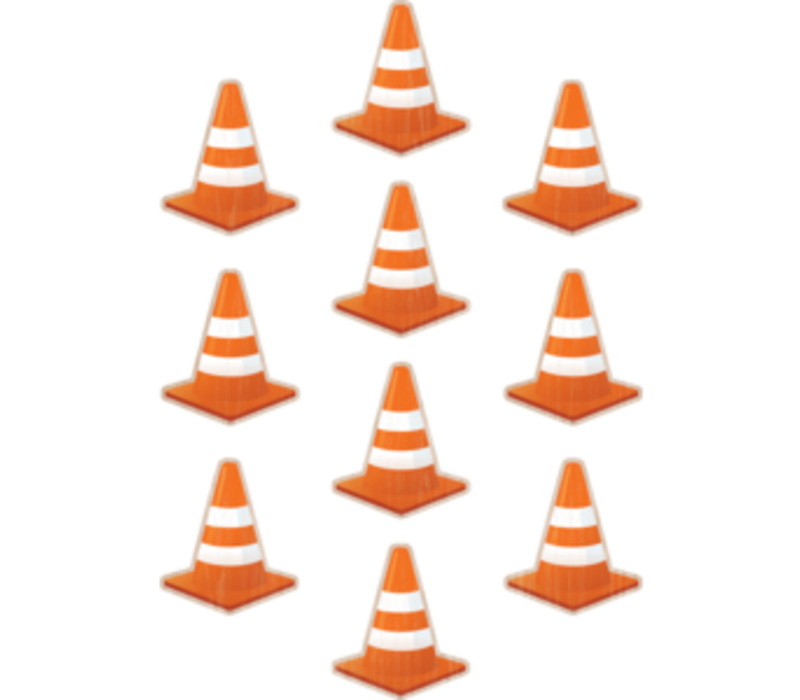 Under Construction Cone Accents *
