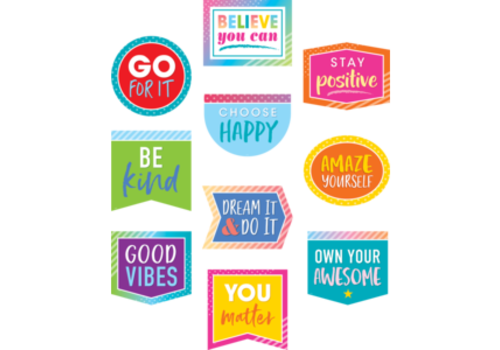 Teacher Created Resources Colorful Vibes Positive Sayings