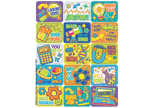 EUREKA Color My World -STEM Success Stickers