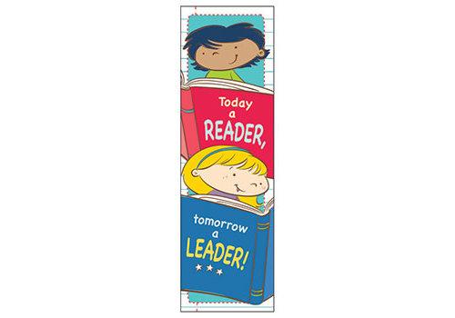 Carson Dellosa Today a Reader, Tomorrow a Leader Bookmarks