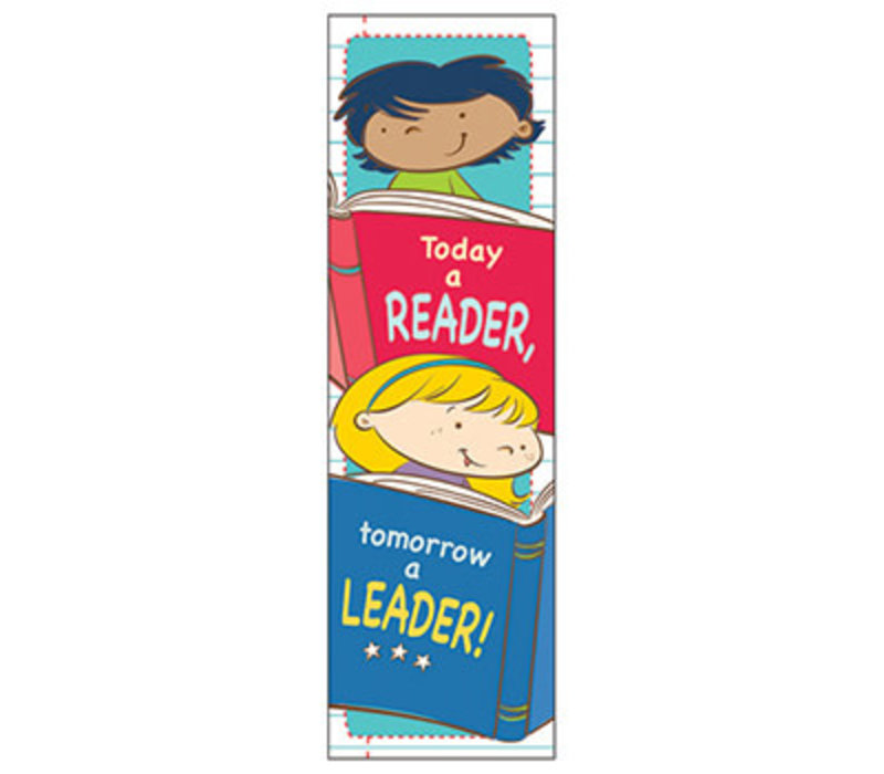 Today a Reader, Tomorrow a Leader Bookmarks (D) *