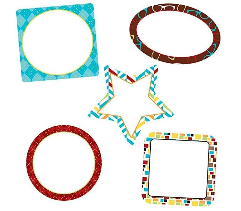 Hipster Frames Mini Cut-Outs