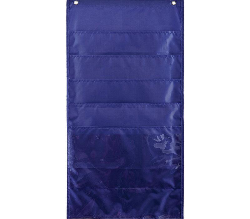 File Folder Storage Pockets, Purple
