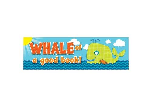Carson Dellosa Whale of a Good Book! Bookmarks (D) *