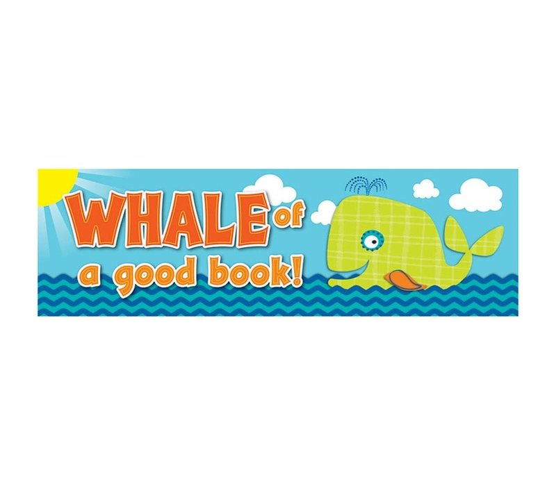 Whale of a Good Book! Bookmarks