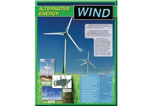 Carson Dellosa Alternative Energy Poster-Wind*