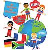 Carson Dellosa We Are Global Citizens Bulletin Board Set *