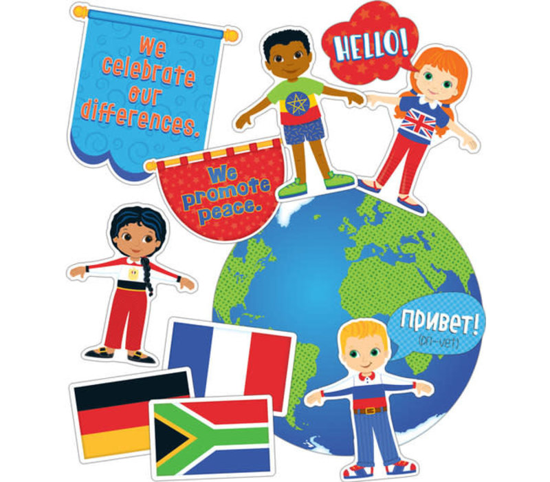 We Are Global Citizens Bulletin Board Set *