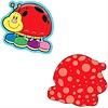 Carson Dellosa Ladybugs Mini Cut-Outs