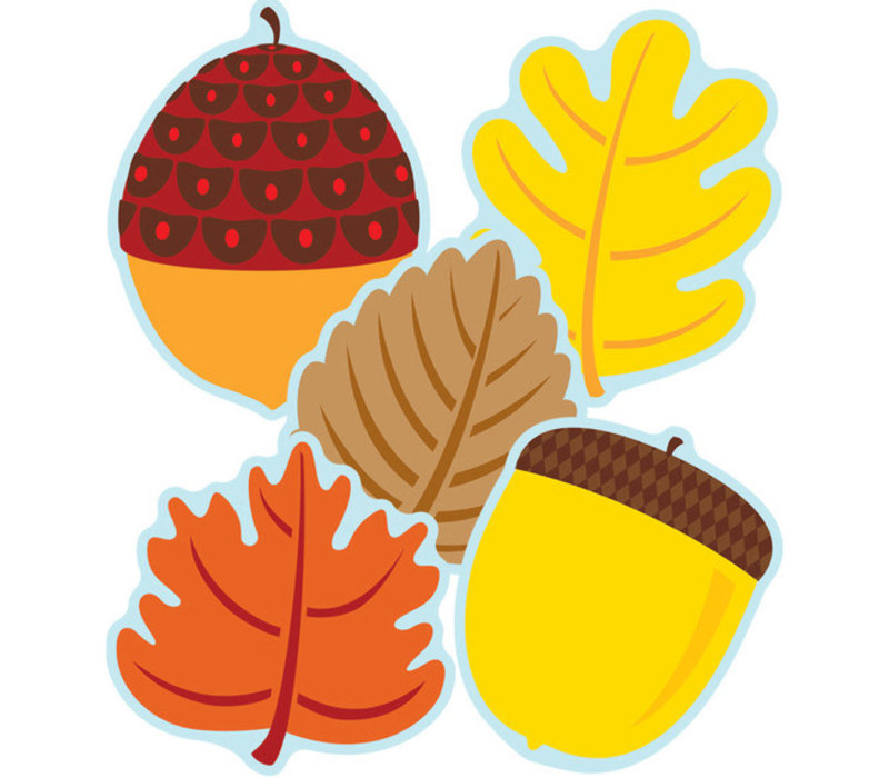 Leaves & Acorns Cut-Outs