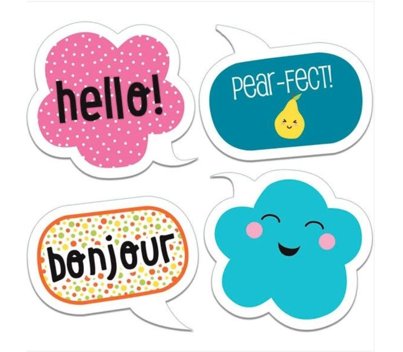 School Pop Happy Talk Cut-Outs