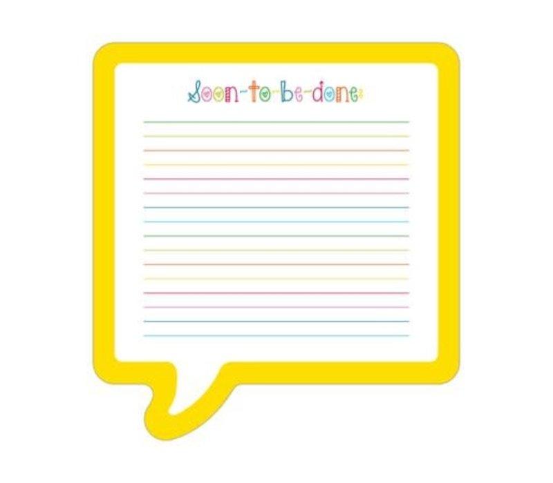 School Pop Notepad