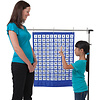 Carson Dellosa Numbers 1-120 Pocket Chart, Blue