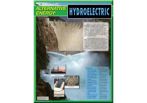 Carson Dellosa Alternative Energy Poster- Hydroelectric*