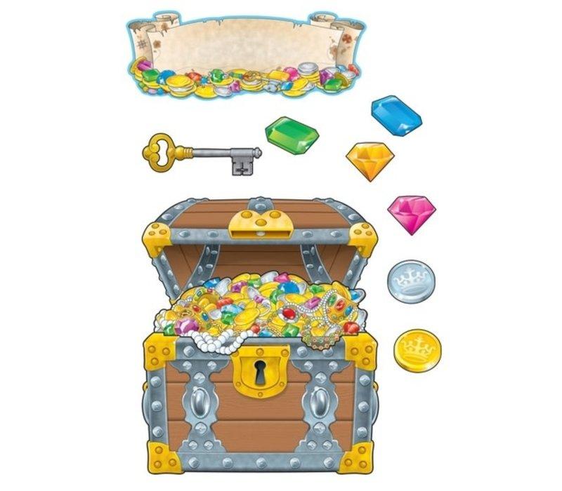 Big Treasure Chest Bulletin Board Set
