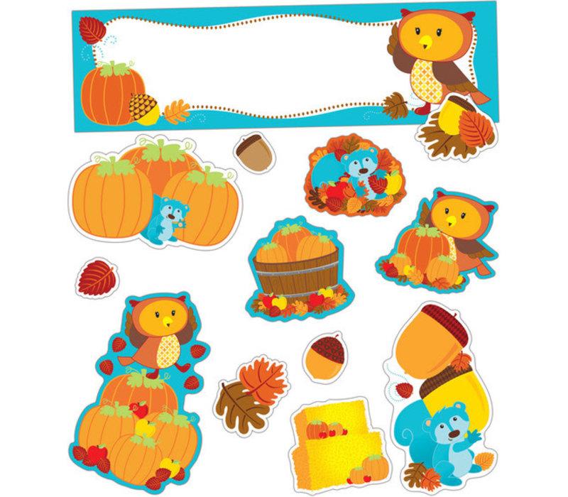 Fall Mini Bulletin Board Set