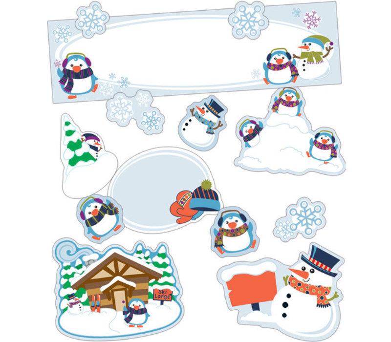 Winter Mini Bulletin Board Set *