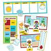 Carson Dellosa Hipster Weather Mini Bulletin Board Set