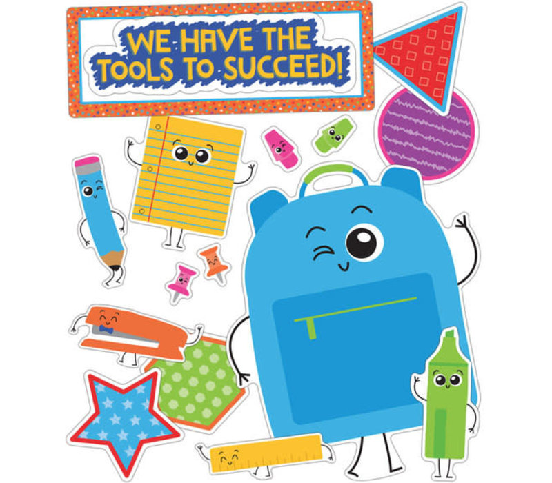 School Tools We Have the Tools to Succeed! Bulletin Board Set *