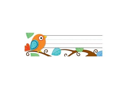 Carson Dellosa Boho Birds Nameplates