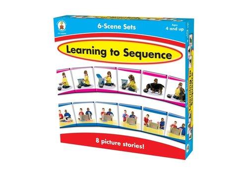 Carson Dellosa Learning to Sequence 6-Scene *