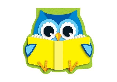Carson Dellosa Reading Owl Notepad