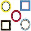 Carson Dellosa Super Power Frames Cut-Outs