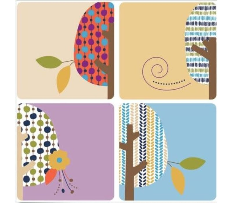 You-Nique Trees Mini Cut-Outs
