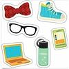 Carson Dellosa Hipster Gear Mini Cut-Outs