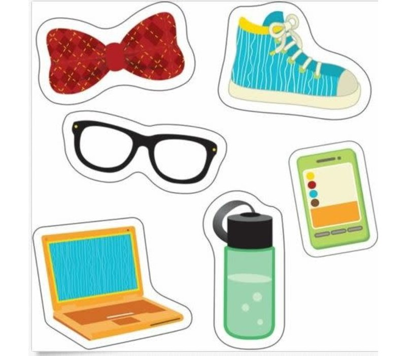 Hipster Gear Mini Cut-Outs *