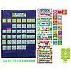 Carson Dellosa Deluxe Calendar Pocket Chart: Blue