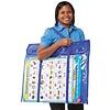 Carson Dellosa Deluxe Bulletin Board Storage Pocket Chart Storage