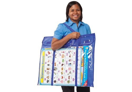 Carson Dellosa Deluxe Bulletin Board Storage Pocket Chart Storage