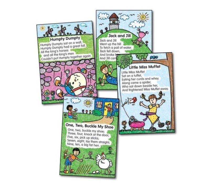 Nursery Rhymes: Kid-Drawn Bulletin Board Set